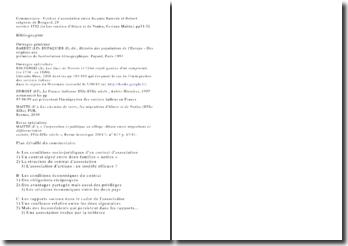 Commentaire : Contrat d'association entre Jacques Sarrode et Robert seigneur de Bongard, 29 octobre 1592