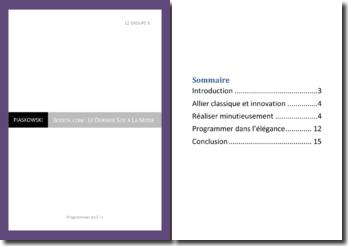 Rapport de projet - Langage C++ - Boutique en ligne
