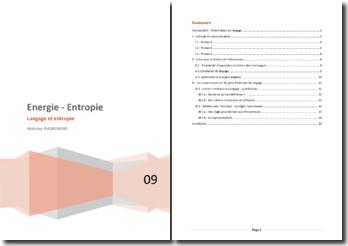 Rapport de projet - Entropie et Langage