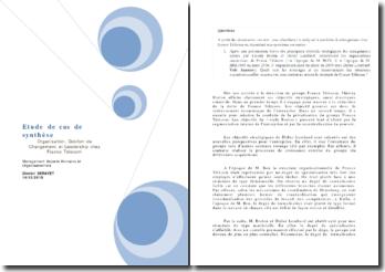 Etude de cas France Telecom