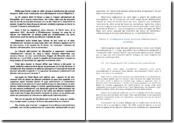 Conseil d'Etat 11 avril 2008 établissement français du sang