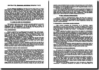 Analyse des chapitres 1 et 2 du livre Democracy and Distrust de John Ely