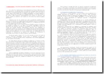 Cour de cassation chambre sociale, 10 mars 2004 - règlement intérieur