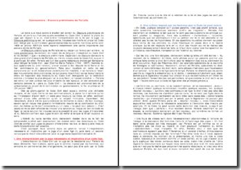 Discours préliminaire de Portalis - Code civil