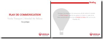 PLAN DE COMMUNICATION - MONDIAL AIR BALLONS