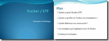 ETF - Tracker Présentation Générale
