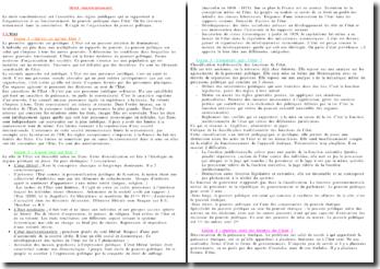 droit constitutionnel de théorie de l'Etat, constitution et démocratie