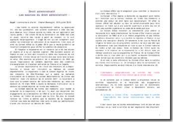 commentaire d'arret Cheriet Benseghir Conseil d'Etat 9 juillet 2010