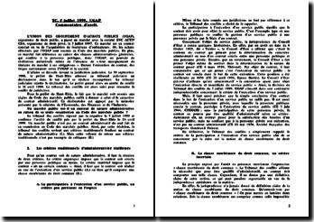 TC 5 juillet 1999, UGAP
