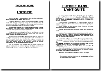 L'Utopie de Thomas More