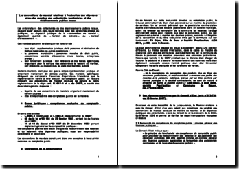 Les conventions de mandat relatives à l'exécution des dépenses et/ou des recettes des collectivités territoriales et des établissements publics locaux