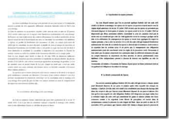 commentaire d'arrêt :cour de cassation 1ère chambre civile 25 janvier 2005