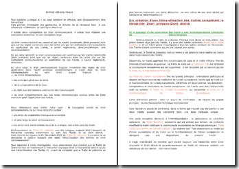 les actes de l'union européenne après le Traité de Lisbonne