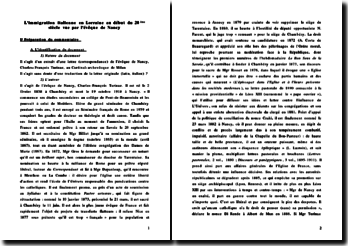 L'immigration italienne en Lorraine au début du 20ème siècle vue par l'évêque de Nancy