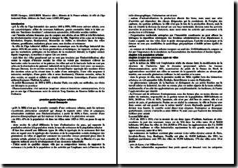 Histoire de la France urbaine, la ville de l'âge industriel, Georges Duby, Maurice Aguhlon (dir.)