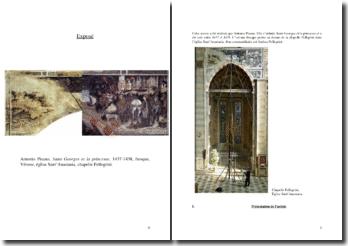 Exposé fresque Saint Georges et la princesse Pisanello