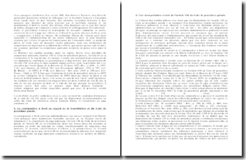 Commentaire d'arrêt du 12 mai 1997: les conditions d'existence de la voie de fait