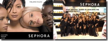 What Sephora missed in launching the Japanese market ?