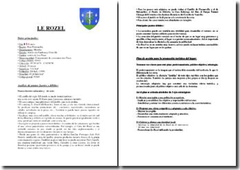 Plan d'action en espagnol pour promouvoir le tourisme dans la commune du Rozel