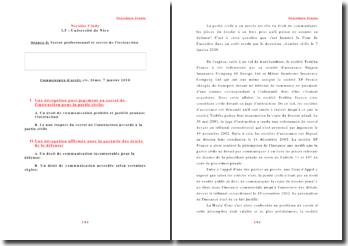 Cas pratique - La modification du contrat - La suspension du contrat
