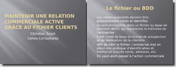 Maintenir une relation commerciale active grâce au fichier client