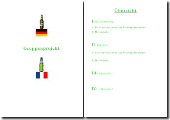 exposé sur la bière en allemand