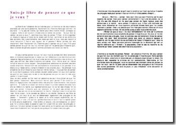 Dissertation Sujet Type Bac de philosphie