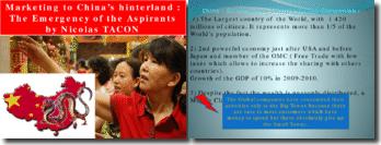 Marketing to China Hinterland TACON ESC CHAMBERY