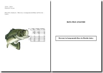Dossier Analyse de données - Statistiques - Data file analysis (en anglais) - Meilleure note obtenue.