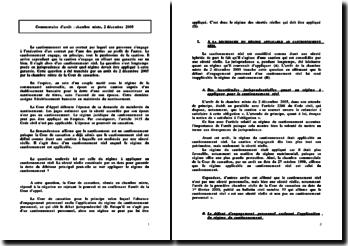 chambre mixte, 2 décembre 2005, revirement de jurisprudence