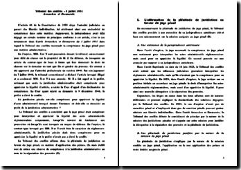 TC 5 juillet 1951 Avranches et Desmarets