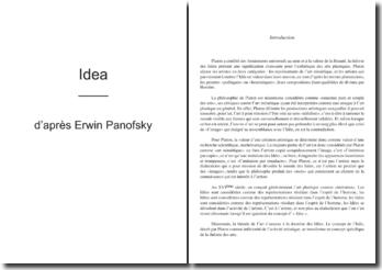 Résumé d'Idéa d'Erwin Panofsky