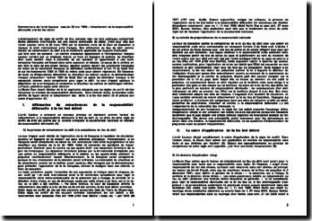Commentaire de l'arrêt Lautour cass.civ 25 mai 1948 : rattachement de la responsabilité délictuelle à la lex loci delicti