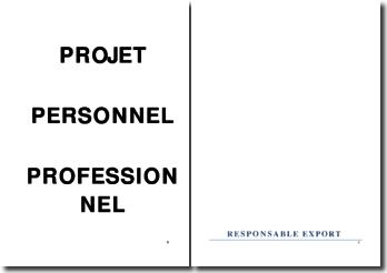 Projet Métier Responsable export