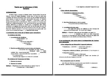 Traité sur la tolérance (1763) Voltaire