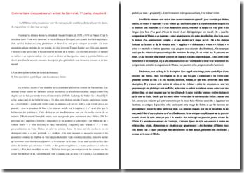 Commentaire composé sur un extrait de Germinal, 1er partie, chapitre 4