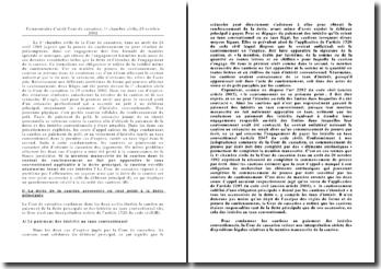 La mention manuscrite de la caution dans le contrat de cautionnement ne fait pas apparaître le taux conventionnel applicable à la dette principal. Arrêt de la chambre 1e chambre civile de la Cour de cassation, 29 octobre 2002
