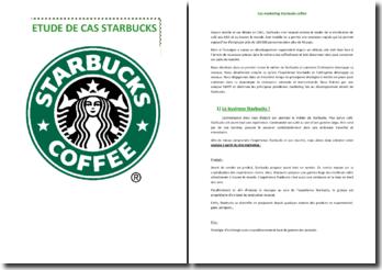 Etude Marketing Starbuck Coffee