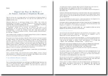 Exposé Beaud - Amrani - Pays de Malheur