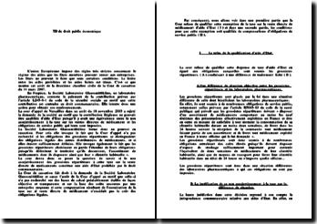 Commentaire arrêt de la deuxième chambre civile de la Cour de cassation du 14 mars 2007