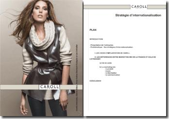 etudes de cas CAROLL