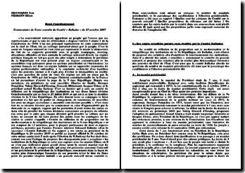 Discours de Michel Debré et de François Mitterrand