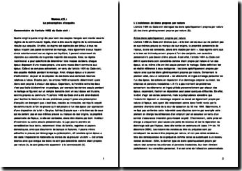 Commentaire de l'article 1402 du Code civil - Droit des régimes matrimoniaux