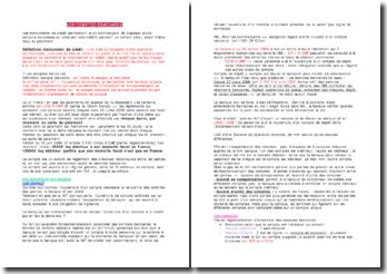 Droit des affaires/ Instruments de paiement et de crédit Fiche de révision: Les comptes bancaires