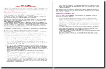 Droit du crédit/Sûretés Fiche de révision: Le cautionnement réel