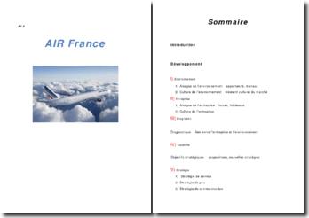 Air france analyse