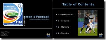 Women's Football - Corporate Communications