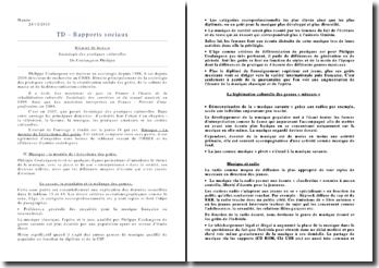 Résumé - Sociologie des pratiques culturelles de Philippe Coulangeon