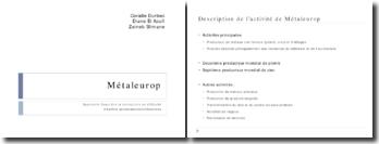 Augmentation de capital Métaleurop