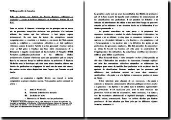 Fiche de lecture sur l'article de Francis Kramarz « Déclarer sa profession », extrait de la Revue Française de Sociologie, Volume 32 n 1, 3-27.
